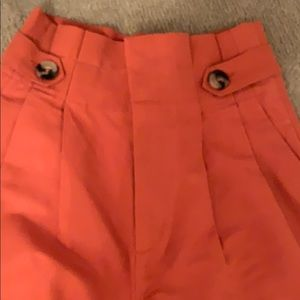 Zara Pants - Dark orange Zara High waisted pants